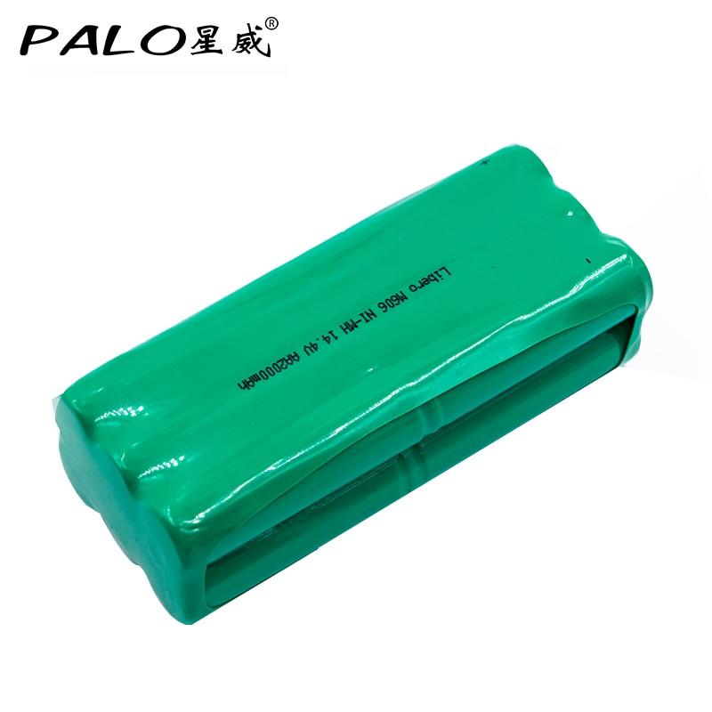 PALO New-Tipo di Batteria 14.4 V Ni-Mh 2000 mAh Aspirapolvere Robot Batteria Ricaricabile Pack Per liberoV-M600/M606 v-botT270/271 eccPALO New-Tipo di Batteria 14.4 V Ni-Mh 2000 mAh Aspirapolvere Robot Batteria Ricaricabile Pack Per liberoV-M600/M606 v-botT270/271 ecc