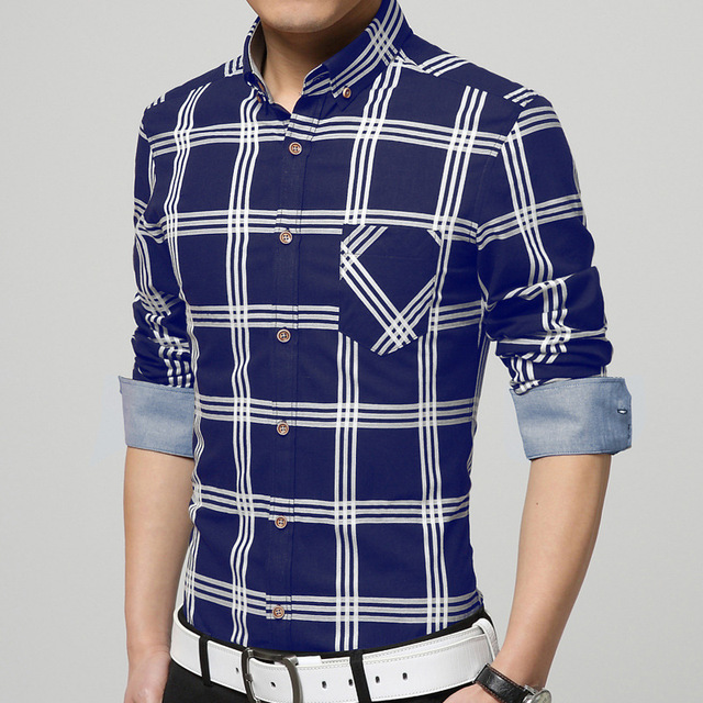 Aliexpress.com : Buy New pattern men shirt sales hot long sleeve ...