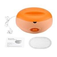 New 1 L Paraffin Heater Therapy Bath Wax Pot Warmer Beauty Salon Spa Wax Heater Equipment Keritherapy System Orange 220 240V