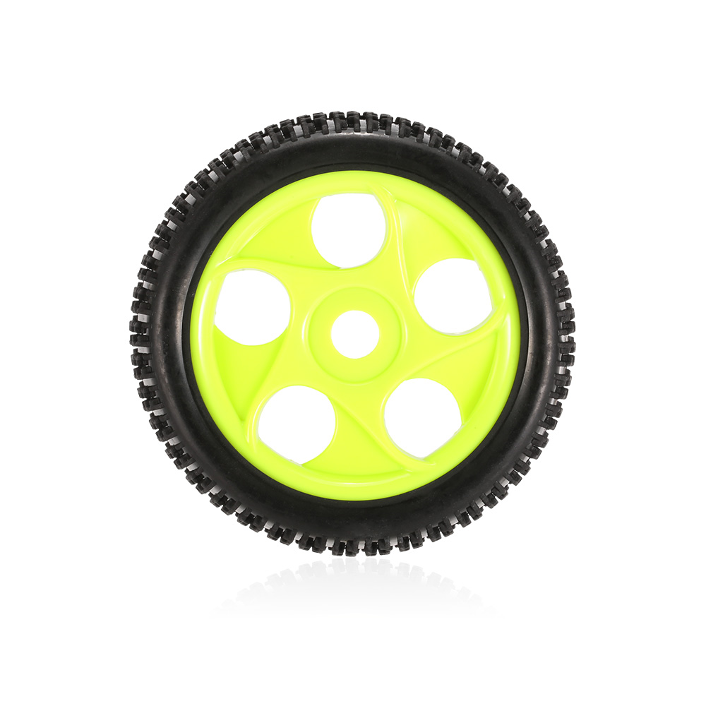Image 4 - 4pcs High Quality 112mm Rubber Tires 17mm Hub Hex Wheel Rim for 1/8 RC Crawler Buggy Off Road Car Truck RC Toys Kid-in Parts & Accessories from Toys & Hobbies