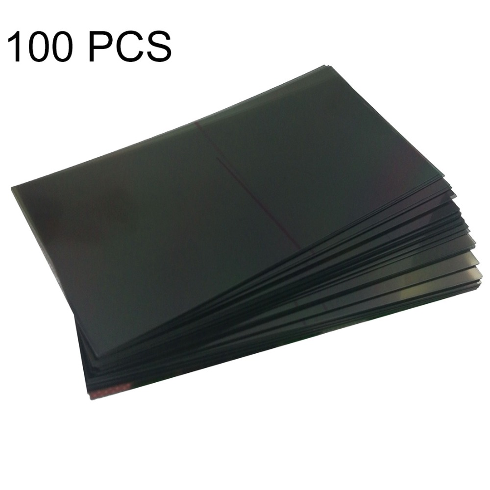New for 100 PCS LCD Filter Polarizing Films for Galaxy Mega 6.3 / i9200 Repair, replacement, accessories