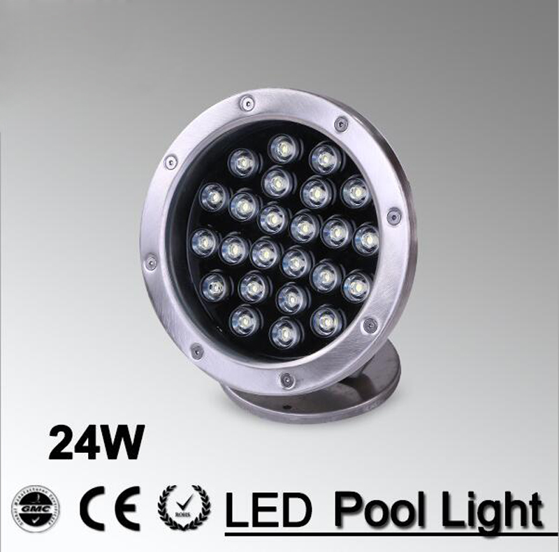 Sweet-Tempered 2pcs/lot High Power Outdoor Light 24w White Rgb 24v Led Swimming Underwater Lamp For Pool Landscape Fountain Lighting Dc12v Ip68 Buy One Give One Lights & Lighting Led Lamps