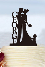 Wedding Decoration Acrylic Personalised Cake Topper Party Decoration Modern Toppers Custom Cake Topper Cake Toppers For Weddings