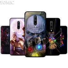 Marvel Thanos Infinity Silicone Case for Oneplus 7 7Pro 5T 6 6T Black Soft Case for Oneplus 7 7 Pro TPU Phone Cover