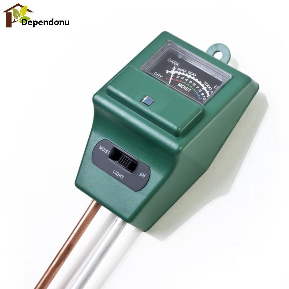Misuratore di pH digitale 3 in1 Misuratore di umidità per acqua di - Strumenti di misura - Fotografia 5