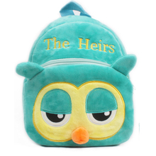 South Korea's The successor owl bag Lovely soft Plush Student bag CHILDREN BACKPACK packing candy toy book kid Satchel mochila