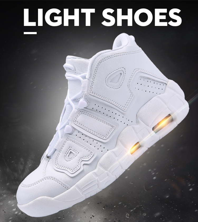 Polali New Men Basketball Shoes Outdoor Trainers Sports Ankle Boots For Men Cushioning Anti-slip Basket Homme Sneakers Krasovki Sneakers