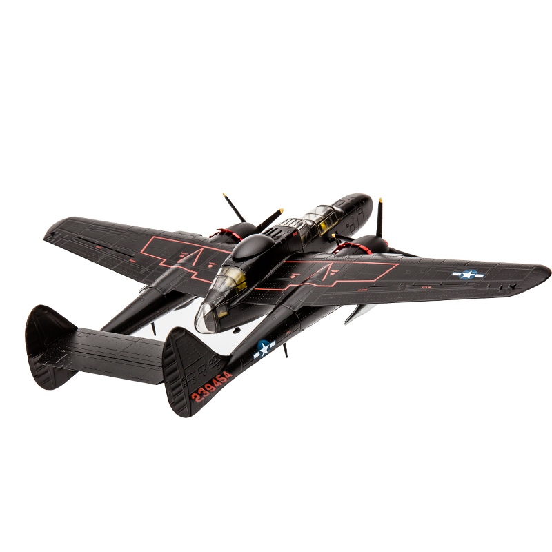 P61 1:7 2 Black Widow The Fifth-generation Aircraft Model Alloy Military Static Model