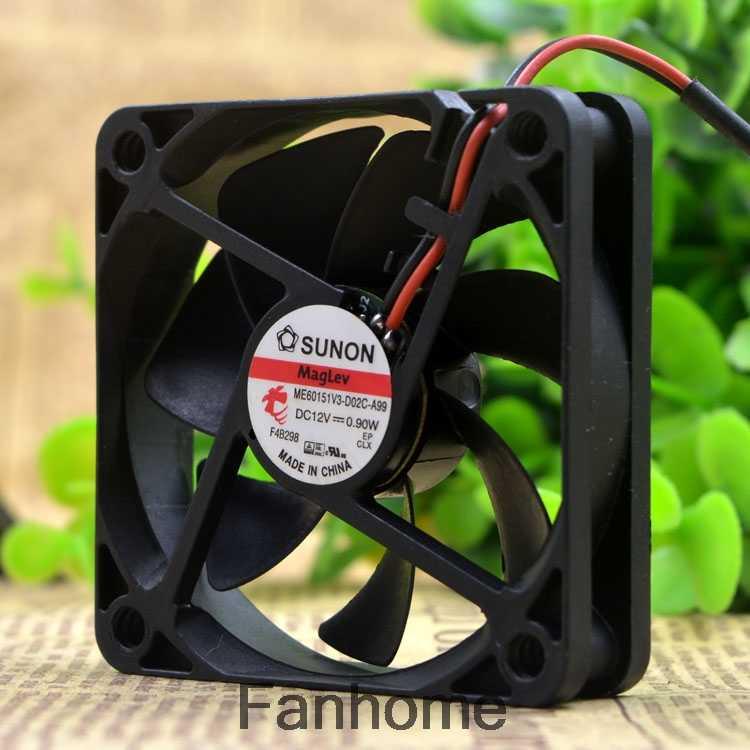 SUNON ME60151V3-D02C-A99 6cm 6015 12V0.9W fan   #FAN 2