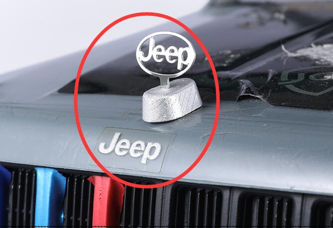 JEEP LOGO TOYOTA for 1/10 Scale RC CAPO ACE-1 JKMAX TAMIYA CC01 Hilux AXIAL AX90046 90047 SCX10 TF2 RCW4D D90 D110(China)