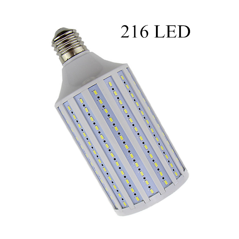 Lampada 38W LED Lamp 5630 SMD E27 E40 B22 216 LEDs Corn Bulb Lighting AC 85-265V Chandelier Ceiling Light Cold white Warm white kinfire 9w 810lm 3000k 45 smd 3528 led warm white light matte ceiling lamp ac 85 265v