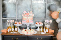 cake table balloon food drinks holiday photo backdrop Vinyl cloth High quality Computer print party photo studio background