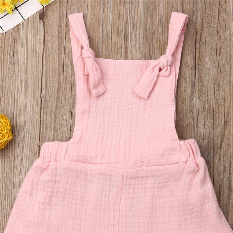 Pelele para niñas pequeñas con volantes para bebés sin mangas mono rosa para niñas