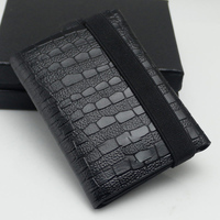 Men MMB M Size Luxury Brand Genuine Leather wallet Mini Folding Wallet Calfskin Classic Wallet Credit Card Holder Option