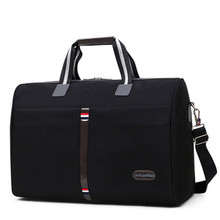 Soft Waterproof nylon Men Travel Bags Carry On Luggage Woman
