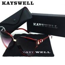 KAYSWELL New Women Cat Eye Sunglasses Brand De