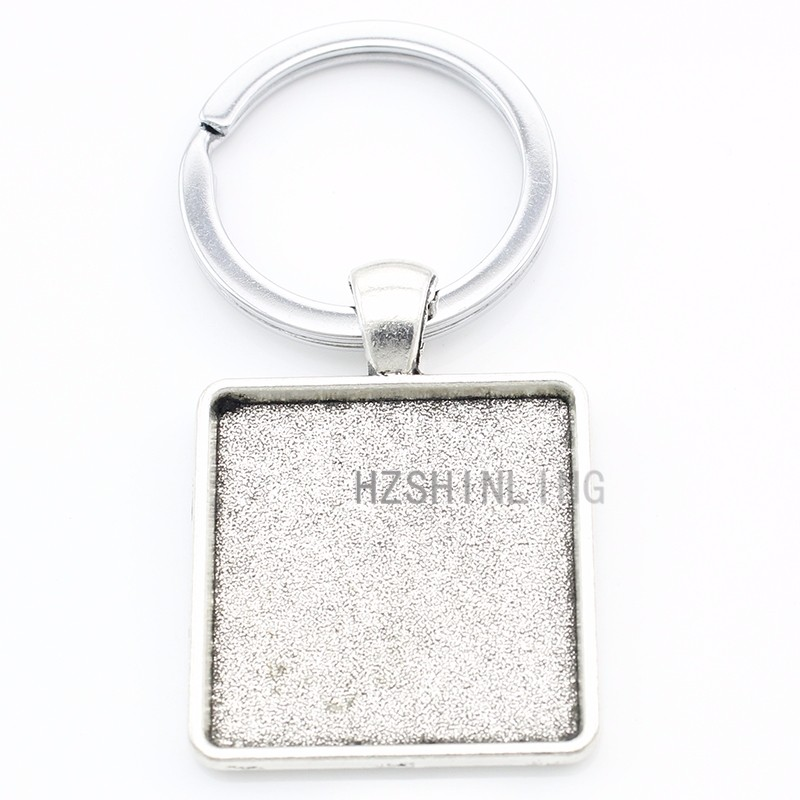 Vintage minimalist Sassy keychain cute funny black keyring fashion women men animal lover key chain ring gift AA178