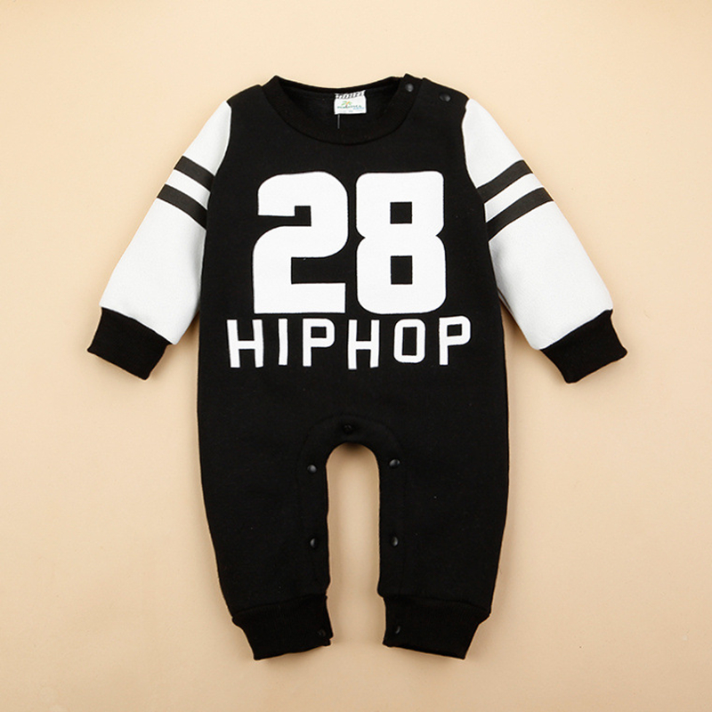 Hip Hop Unisex Baby Clothes Spring Autumn Baby Rompers Long Sleeve Cotton Jumpsuit Newborn Baby Boy Rompers Costumes For Girls newborn baby girls jumpsuit rompers boys clothes romper for infant baby girls pajamas spring autumn long sleeve cotton costumes