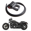1PC Motorcycle Waterproof Headlight Fog Spot Light On Off Handlebar Switch w/ Light Motorcycle Electrical  Ignition Switches