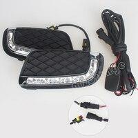 Daytime Running Light DRL For Mercedes Benz Smart Fortwo 2008 To 2011 Car Led Daytime Running