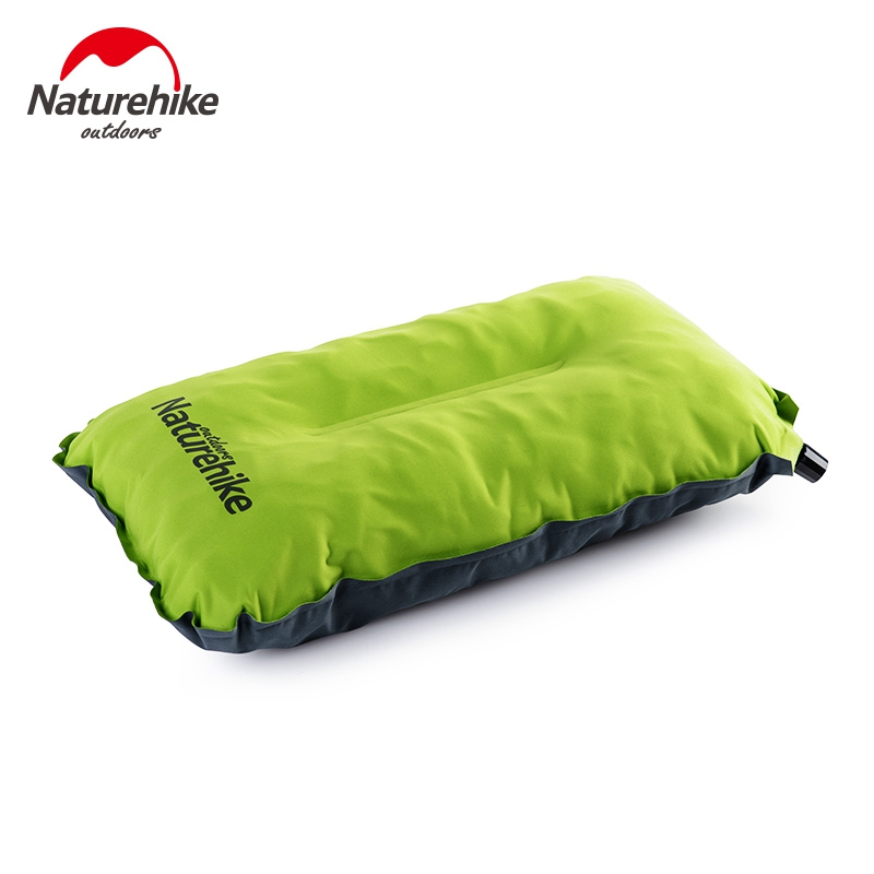Naturehike Automatic Self Inflatable Air Pillows Compressed Non-slip Portable Outdoor Camping Hiking Travelmate NH17A001-L
