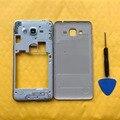Чехол средней рамки для телефона Samsung J2 Prime G532 Galaxy G532H G532F G532G, новый корпус, задняя крышка батарейного отсека, задняя панель