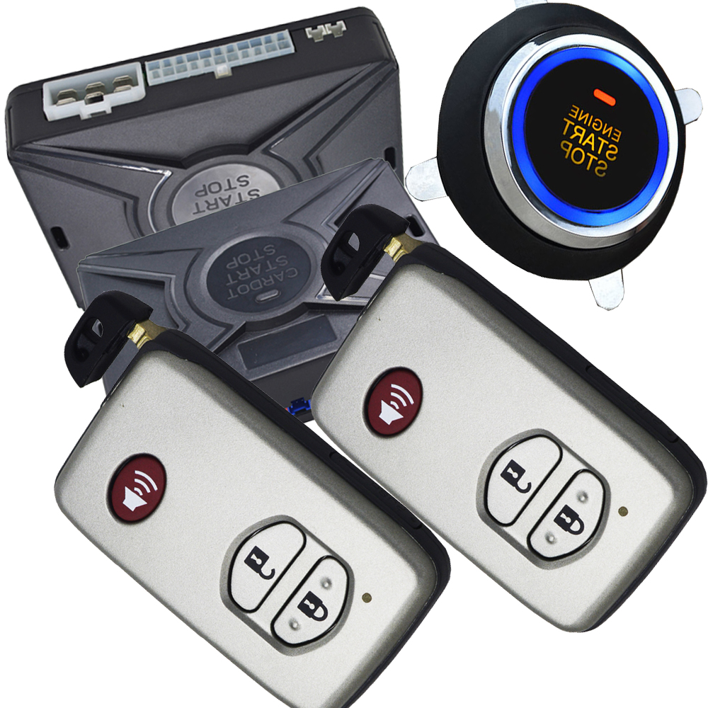 auto car alarm system passive keyless entry with central lock or unlock automatically long distance remote