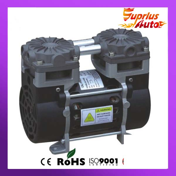 110V (AC) 50L/MIN 165W small electric piston vacuum pump 220v ac 50l min 165w oil free piston vacuum pump hzw 165