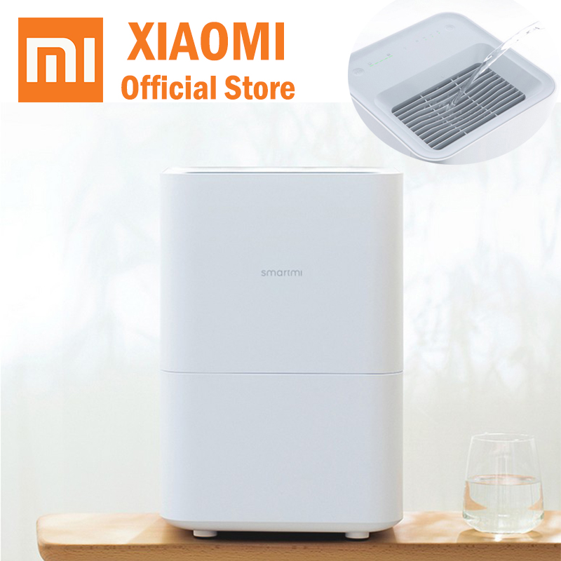 Xiaomi Smartmi Pure Evaporative Humidifier 2 mijia APP Control Air Humidity 4L big capacity mi home