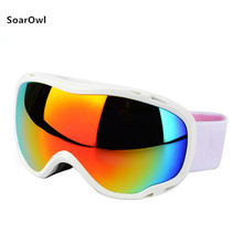 Ski goggles double anti-fog large ski mask glasses skiing adult men and women snow sport multi-color optional