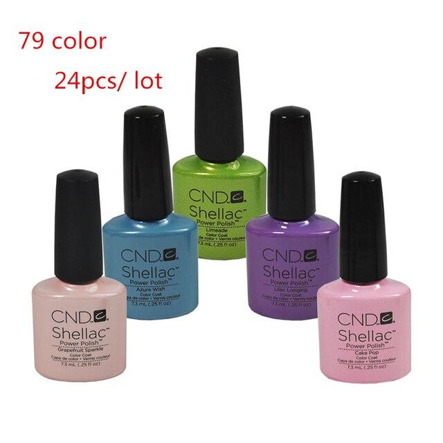 elija 25 unids ) 2015 CND Shellac esmalte de uñas de Gel empapa del ...