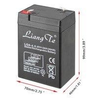 liangte в 6 в 4.5 Ач/20гр герметичный свинцово-кислотный аккумулятор аккумуляторная батарея ОАС батареи данные аккумуляторные батареи