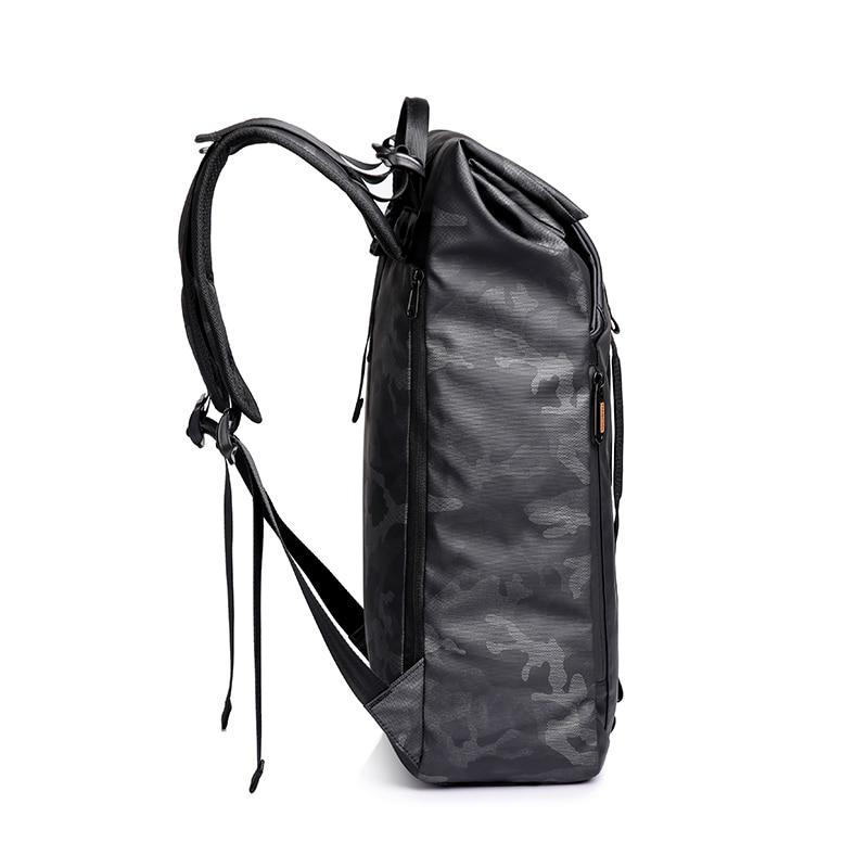 TANGCOOL hommes mode sac à dos 15.6 'sac à dos pour ordinateur portable sac à dos étanche quotidien école sac à dos pour collège étudiant - 3