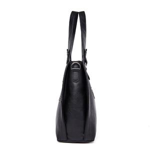 Image 3 - NEW Fashion Leather Women Bags Handbags Women Famous Brands Luxury Designer Plaid Sholder Bag Ladies Big Casual Tote Sac A Main