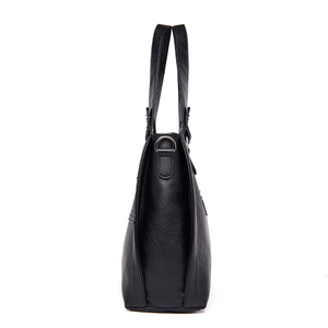 Image 3 - Yeni moda deri kadın çanta çanta kadın ünlü markalar lüks tasarımcı ekose omuz çantası bayanlar büyük Casual Tote Sac bir ana