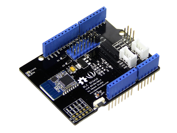 Carte d'extension Bluetooth BLE Shield compatible avec arduino/seeeduino