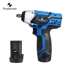 Prostormer 12V Electric Cordless Wrench DC Lithium Ion Battery 100NM Rechargeable Electric