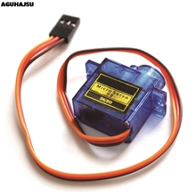 Official Smart Electronics Rc Mini Micro 9g 1.6KG Servo SG90 for RC 250 450 Helicopter Airplane Car Boat For Arduino DIY