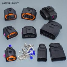 Shhworldsea 3,5 мм на возраст 2, 3, 4, 6, 8 10p pin типа «папа» муфтовый стыковочный переводник для vw Audi 1J0 973 724 8D0 973 822