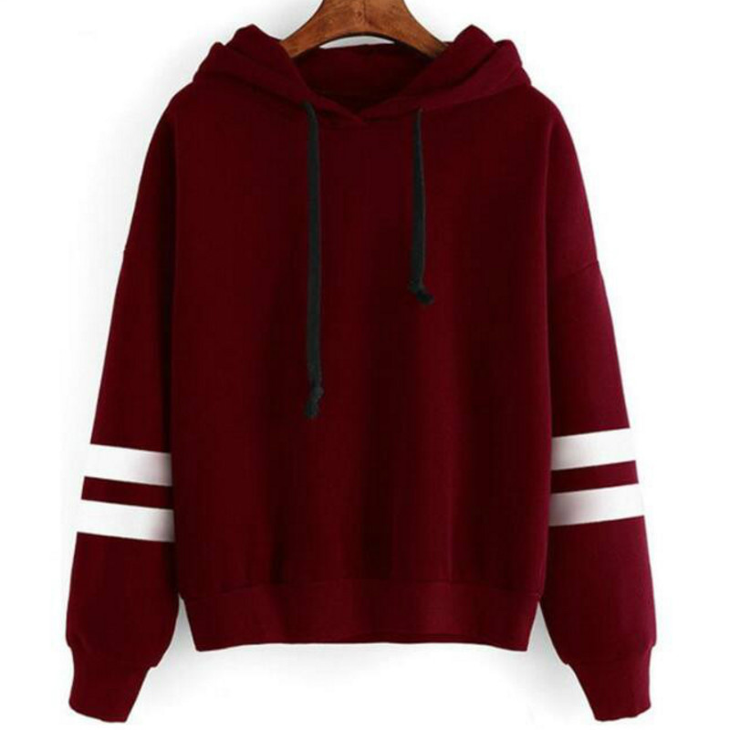 2018 Autumn Women Hoodie Casual Long Sleeve Hooded Pullover Sweatshirts Hooded Female Jumper Women Tracksuits Sportswear