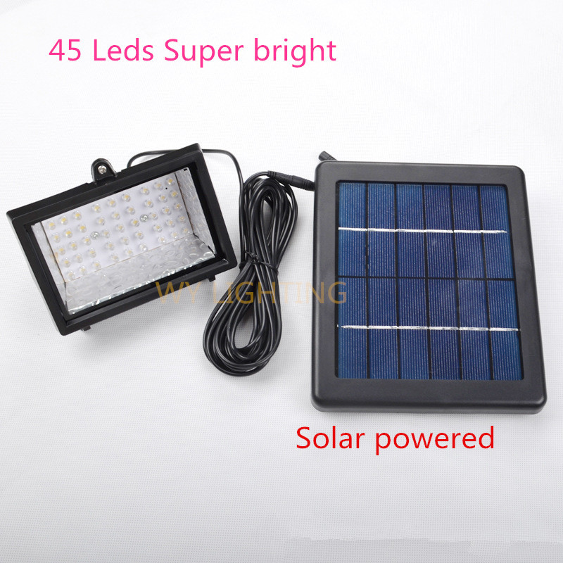 45led Solar Led Flood Light 3w Super Bright Led Spot Lamp