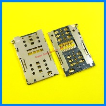 2 pcs/lot d'origine nouvelle carte sim socket slot remplacement support de plateau pour xiaomi redmi 4a hongmi4a hongmi 4a top qualité