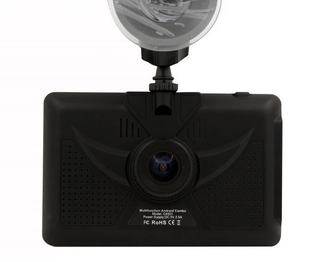 Android 4.4.2 GPS buit-en DVR, Bluetooth, FM, Wifi, 8G g-sensor de Grabación Automática de Vídeo GPS Del Coche DVR