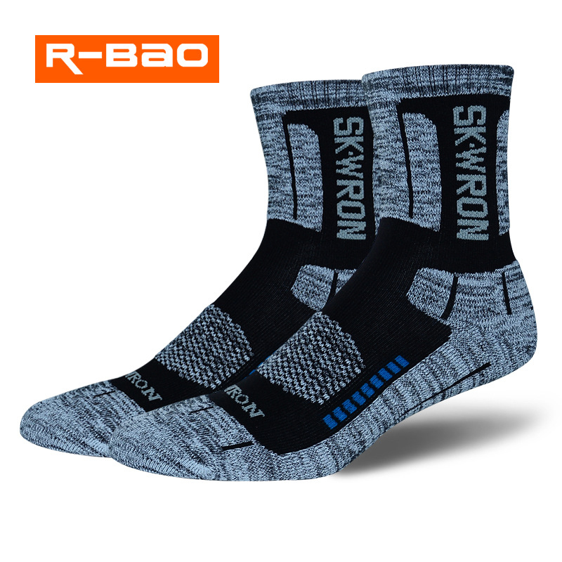R-Bao Professional Women Men Outdoor Hiking Socks Warm Cotton Trekking Mountaineering Cycling Sports Running Skiing Socks W05