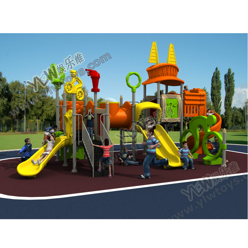2017 YLW amusement plastic outdoor playground for park OUT1635 with CE,TUV certificates2017 YLW amusement plastic outdoor playground for park OUT1635 with CE,TUV certificates