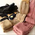 Hot Sale Women's Winter Stocking Cotton Knitted Check Ultra Long Thermal over-the-knee Stockings