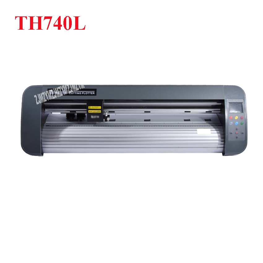 1PC 24 inch desktop contour cut plotter cutter TH740L with red eye 74cm cutting plotter including Flexi software 4MB Rom original for teneth cutting plotter sai flexistarter contour cutting plotter flexi starter software could version