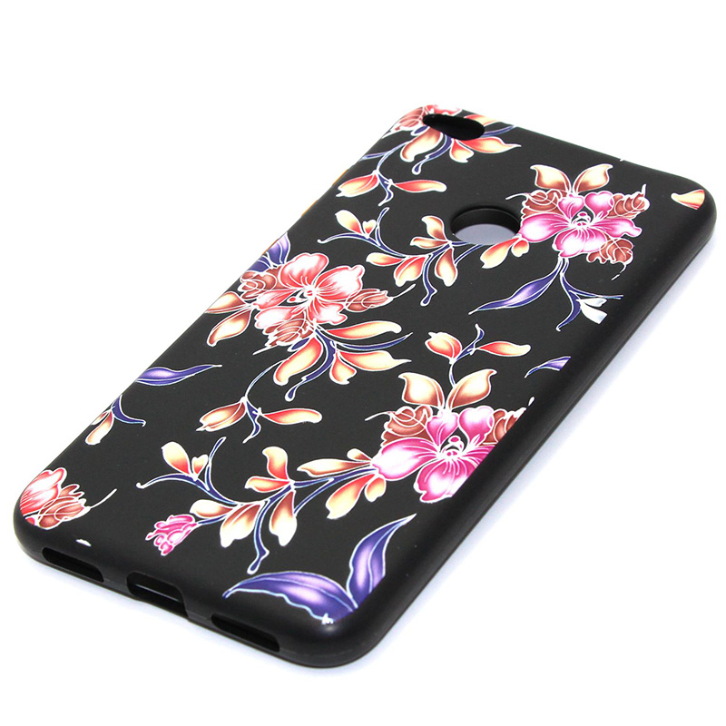 3D Relief flower silicone case huawei p8 lite 2017 honor 8 lite (34)
