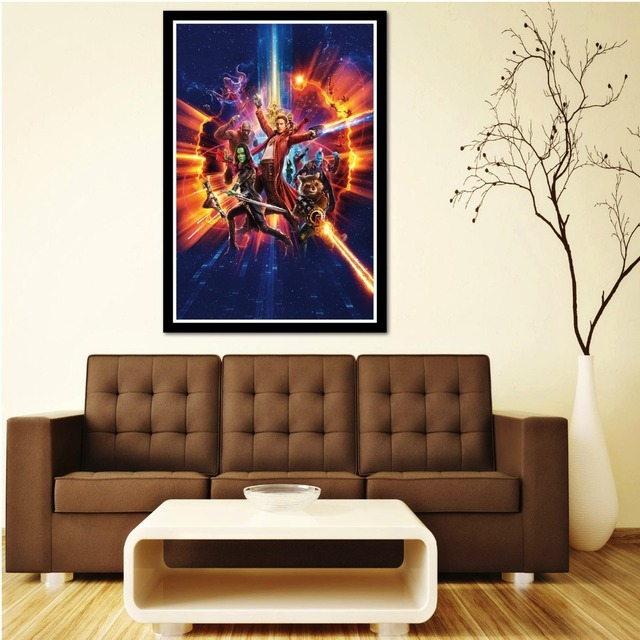 J0471- Guardians of the Galaxy Vol. 2 2017 New Movie Silk Art Poster Top Print For Home Wall Decoration Room Decor – NO framed