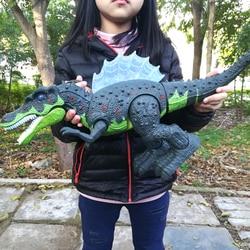 Elétrica brinquedos interativos: falando e andando Dinosaur & Dinossauros Para Jogos, R/C de brinquedo de controle Remoto